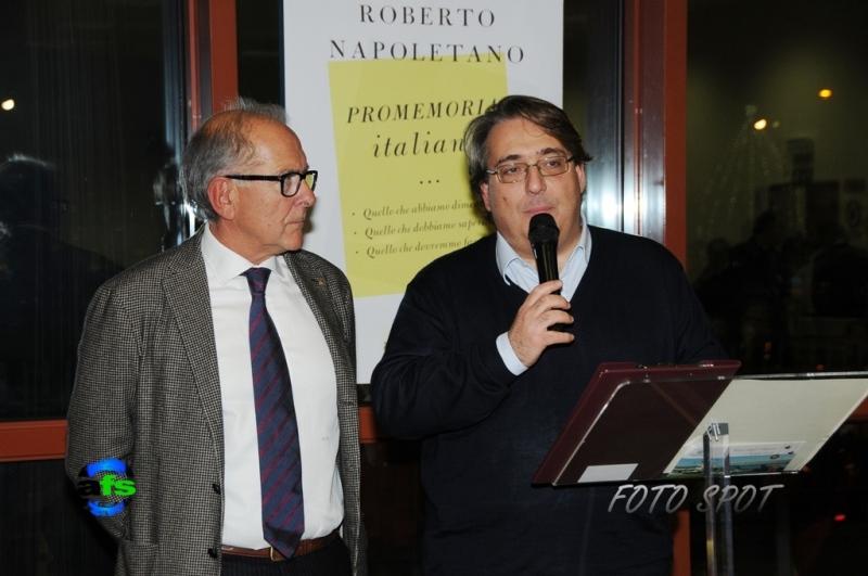 Cena di Confindustria, Bruno Bucciarelli con Roberto Napoletano