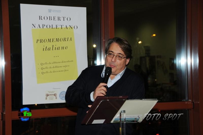 Cena di Confindustria, Roberto Napoletano
