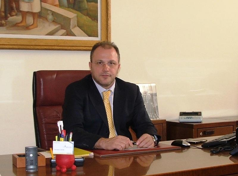 Francesco Gentile direttore della filiale di Poste Italiane di Ascoli