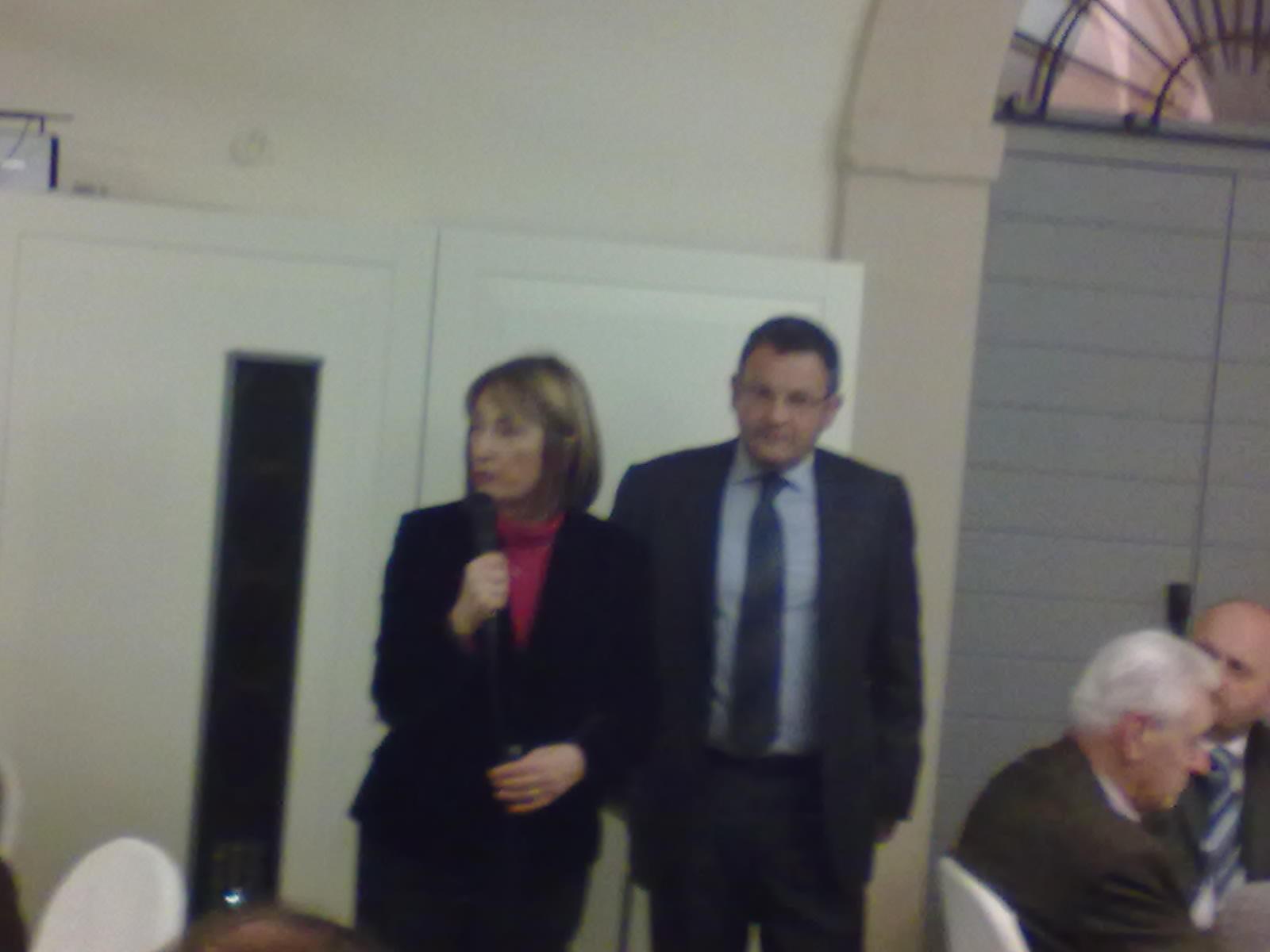 Gabriella Patrizi, Franco Gaspari