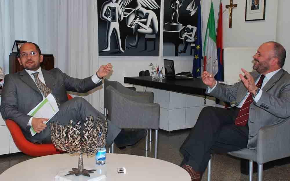 Guido Castelli e Giovanni Gaspari