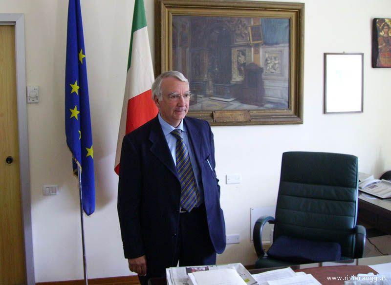 Il questore di Ascoli dott. Giuseppe Fiore