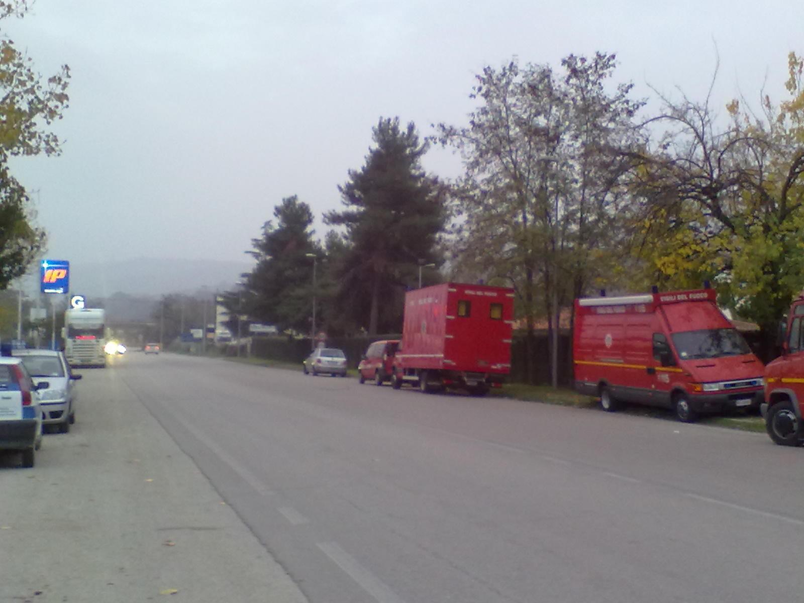 Intervento Vigili del Fuoco di Ascoli Piceno