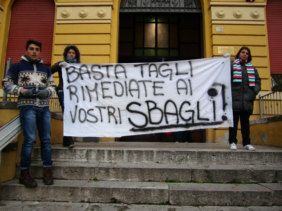 Istituto Agraria, protesta degli studenti
