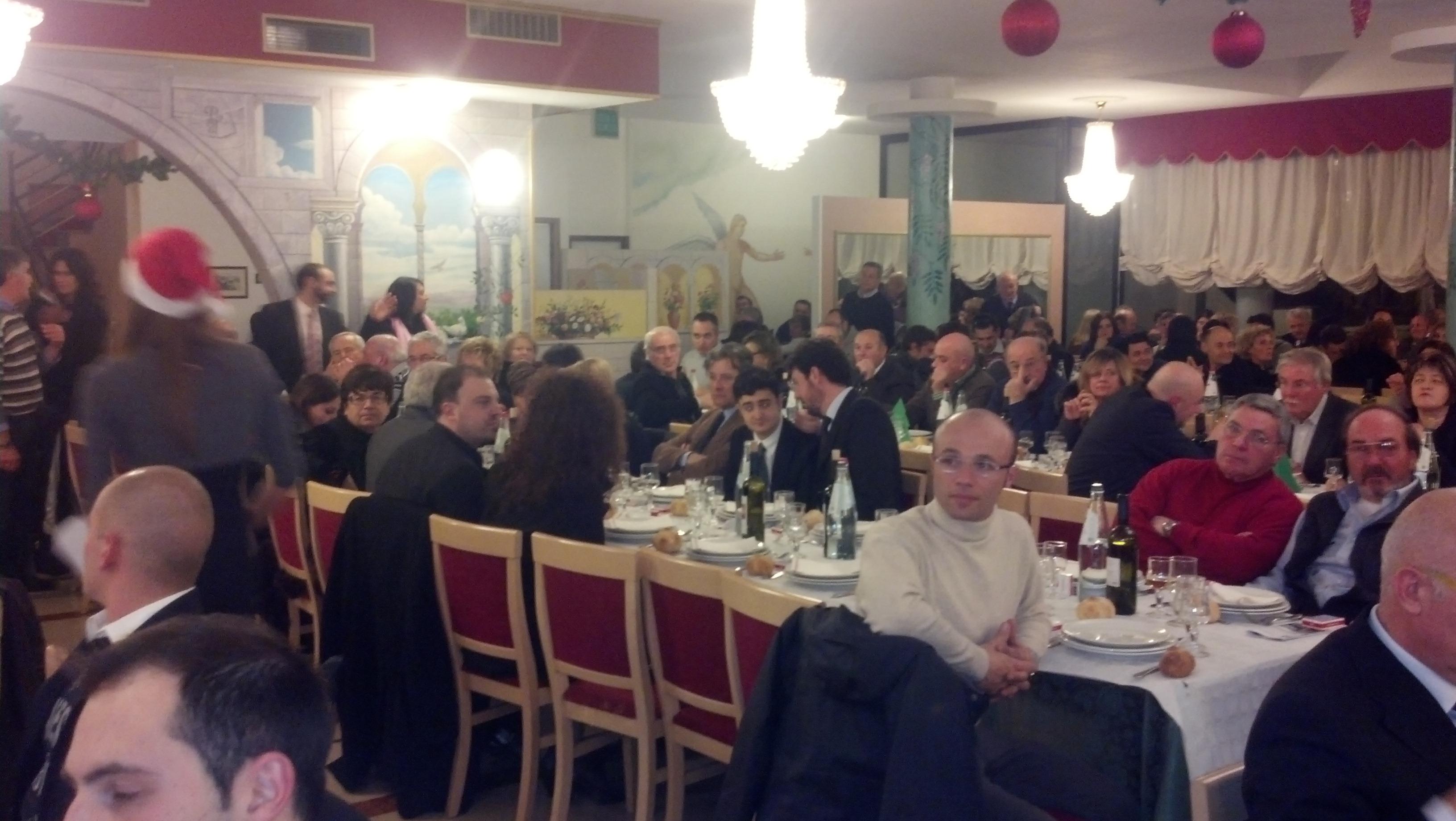 Parco dei Tigli, cena elettorale di Casini e Udc