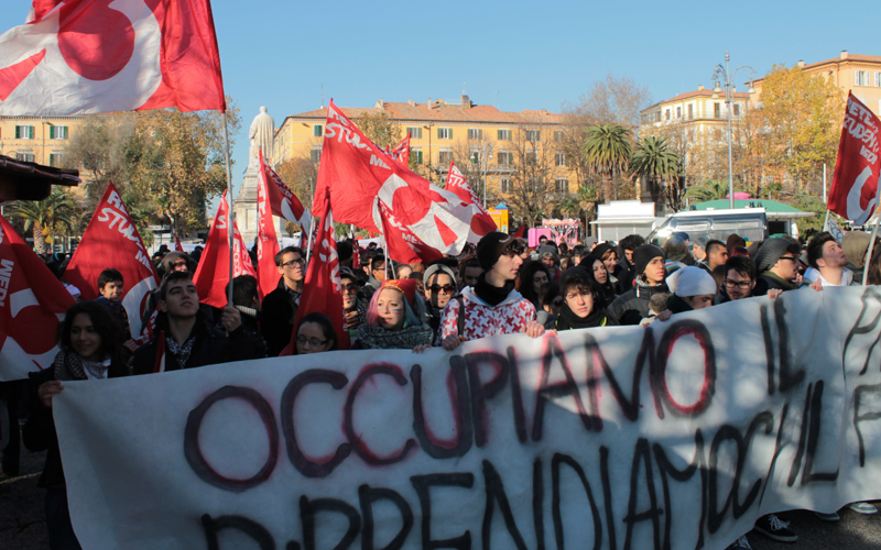 Protesta degli studenti ad Ancona, 11 dicembre 2012 1