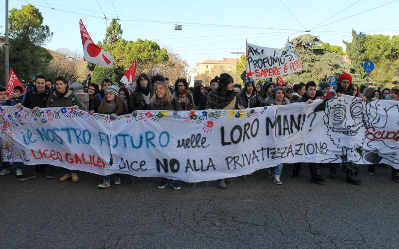 Protesta degli studenti ad Ancona, 11 dicembre 2012 2