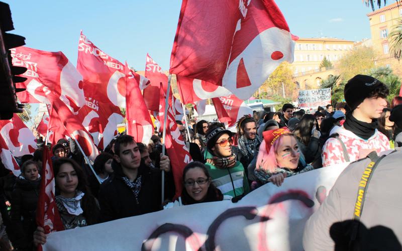 Protesta degli studenti ad Ancona, 11 dicembre 2012 3