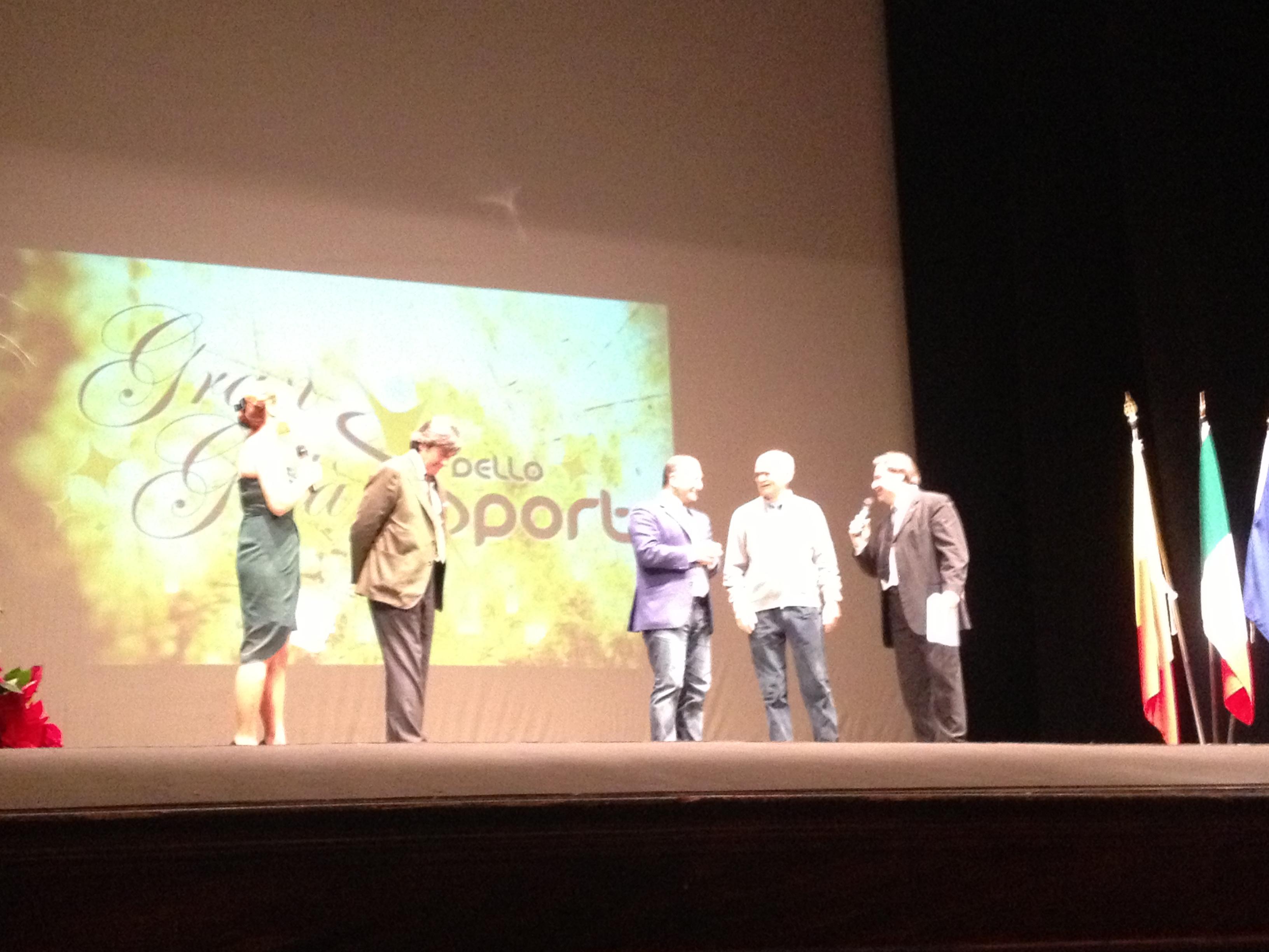 Gran Galà dello Sport 2012, Marco Civoli, Guido Castelli, Sandro Mazzola