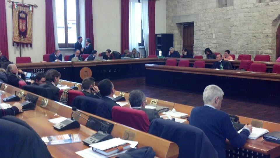 Consiglio comunale di Ascoli, 23 gennaio 2013
