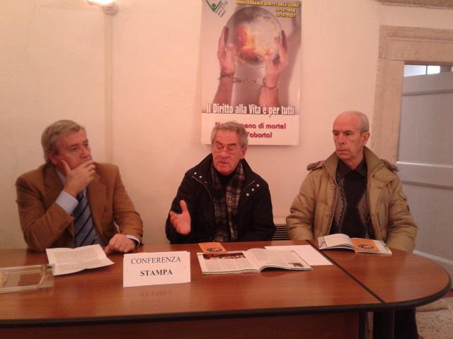 Da sinistra Stefano Ojetti, Paolo Fermani e Gianpietro Spinelli