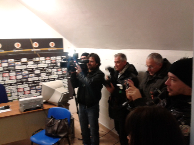Fotografi e cameramen al 'Città di Ascoli'