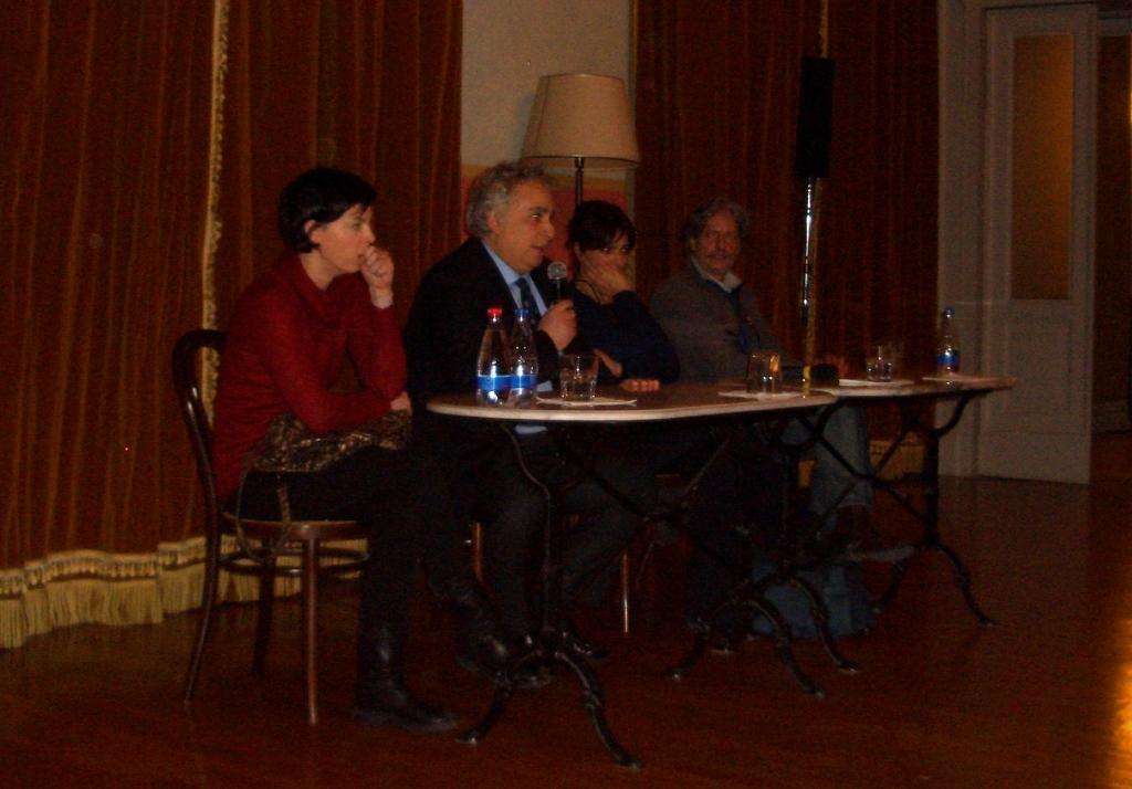 Incontro con Laura Morante e Gigio Alberti 1