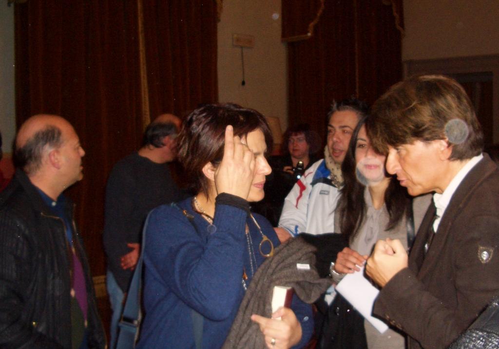 Incontro con Laura Morante e Gigio Alberti 2