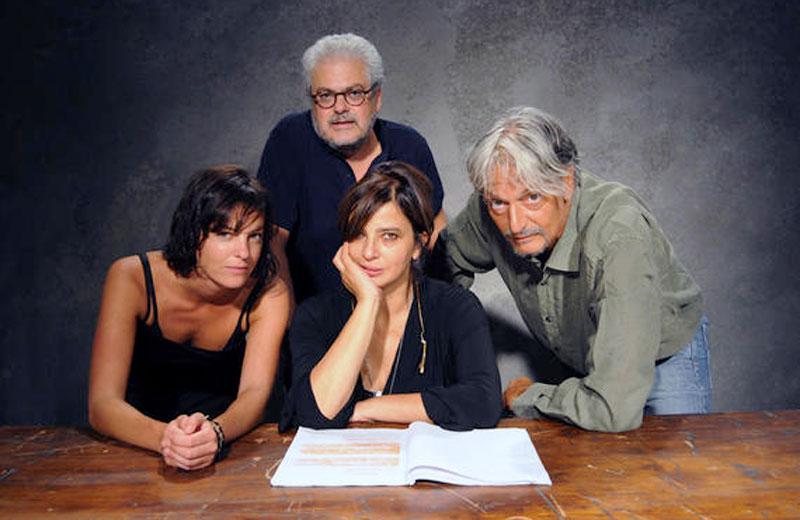 Stefania Ugomari Di Blas, Roberto Andò, Laura Morante e Gigio Aliberti