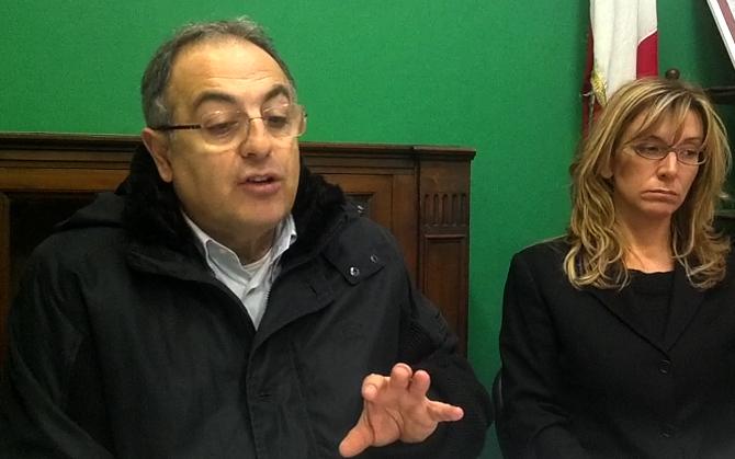 Luciano Agostini e Micaela Girardi