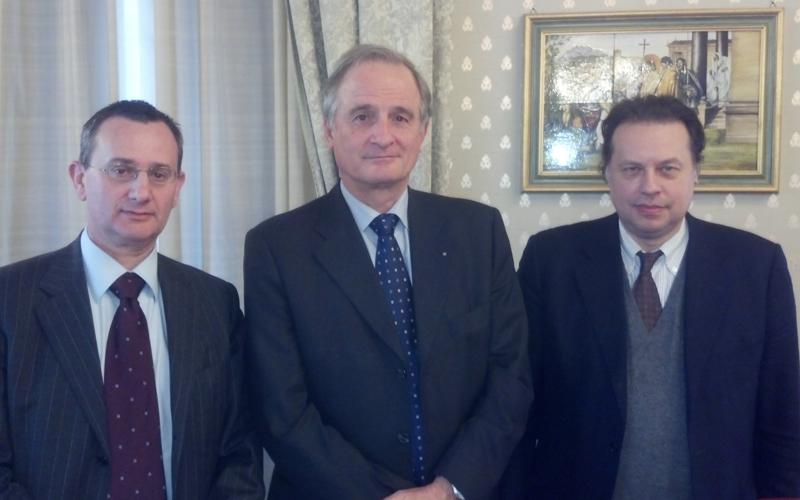 Lucio Zanetta, Claudio Pasini, Roberto Mastropasqua della UnionTrasporti