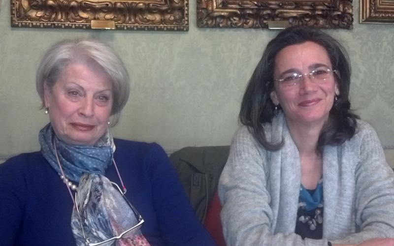 Ludovica Teodori e Maria Angela Pespani