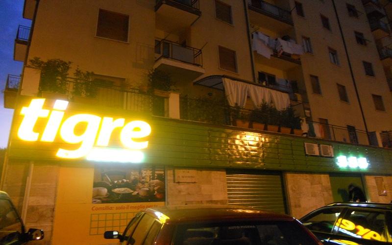 Piazza Immacolata, Tigre