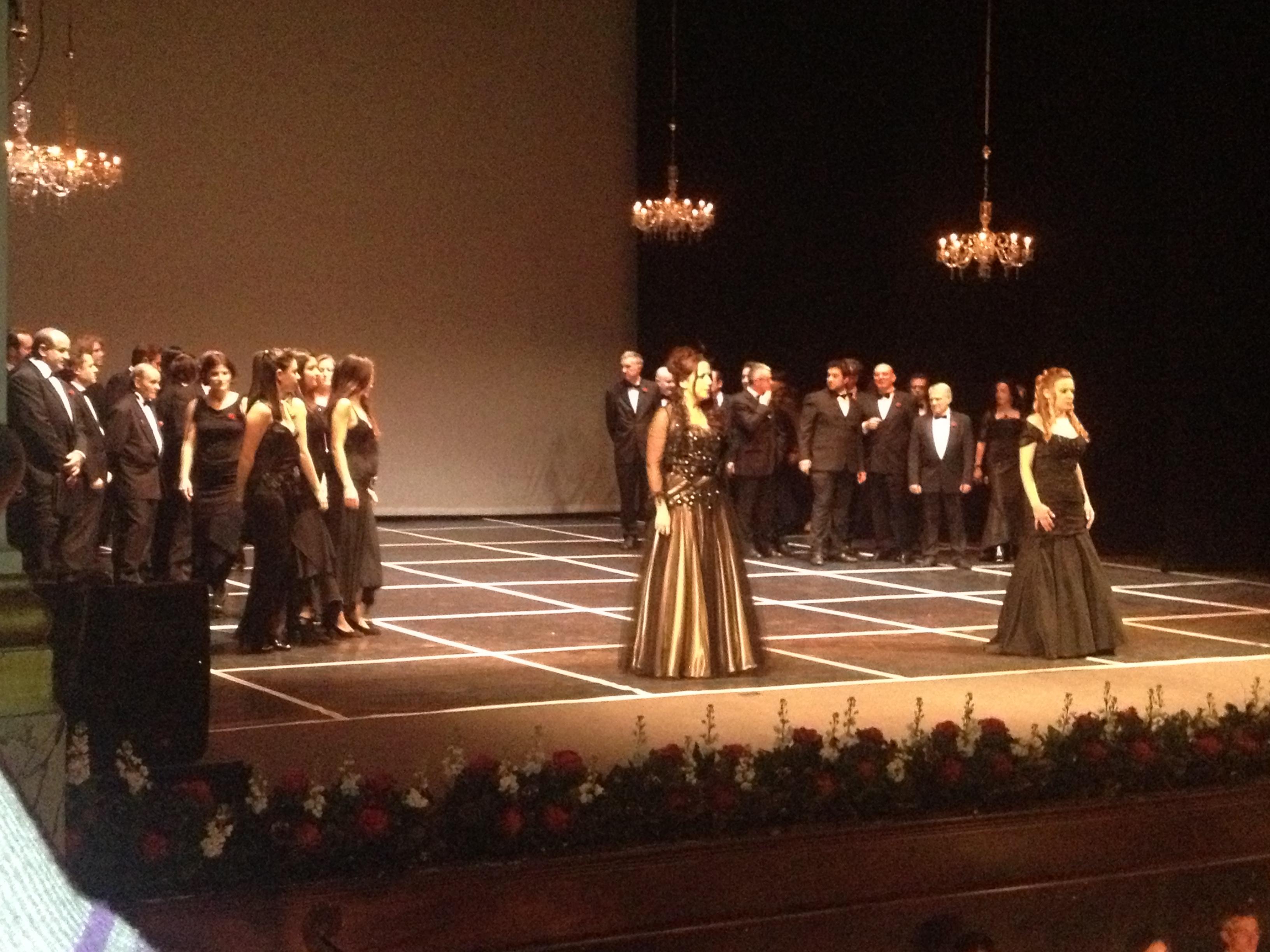 Gran Concerto di Capodanno coro ventidio basso, barbara de angelis, patrizia perozzi