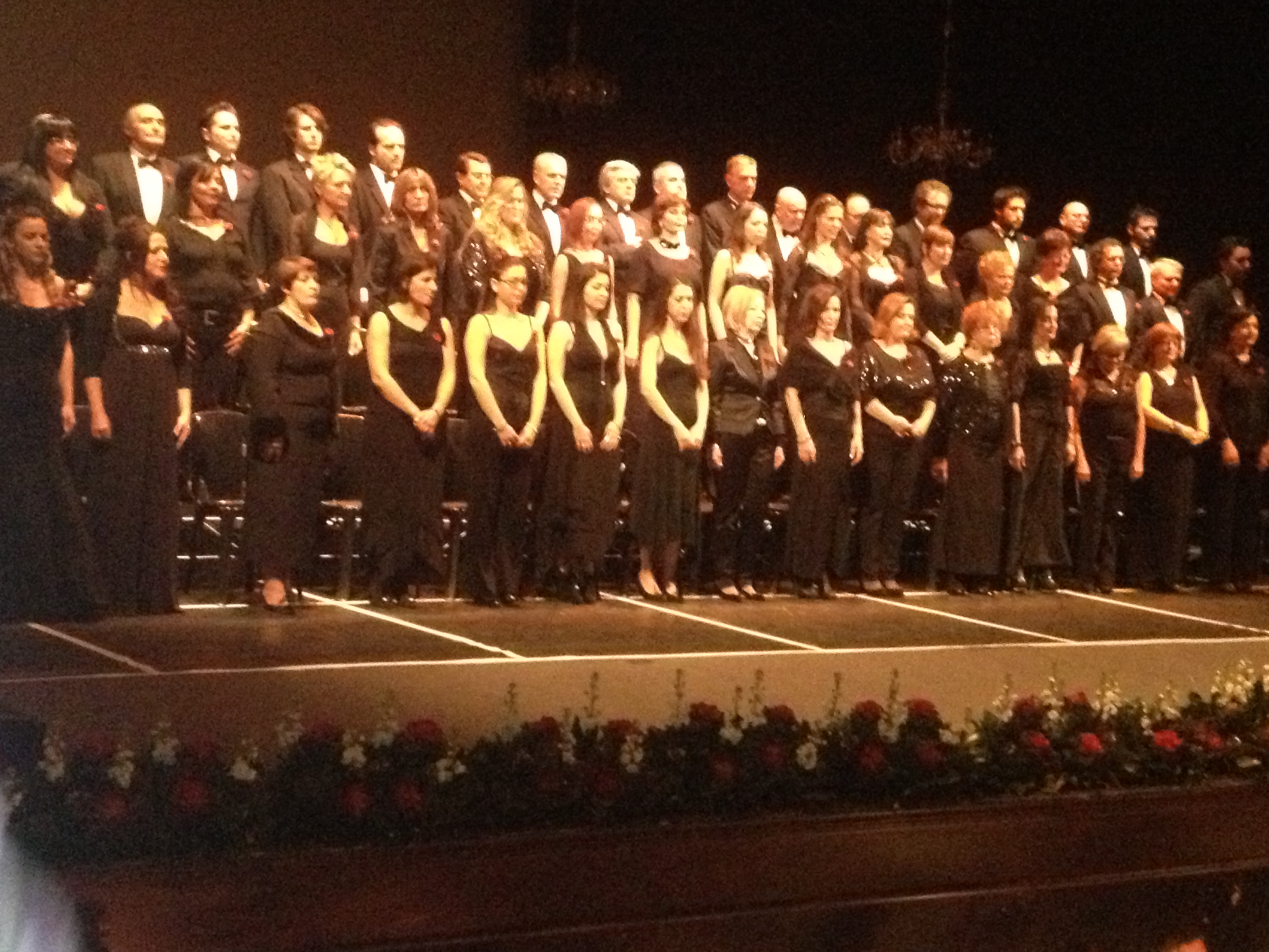 Gran Concerto di Capodanno, coro ventidio basso
