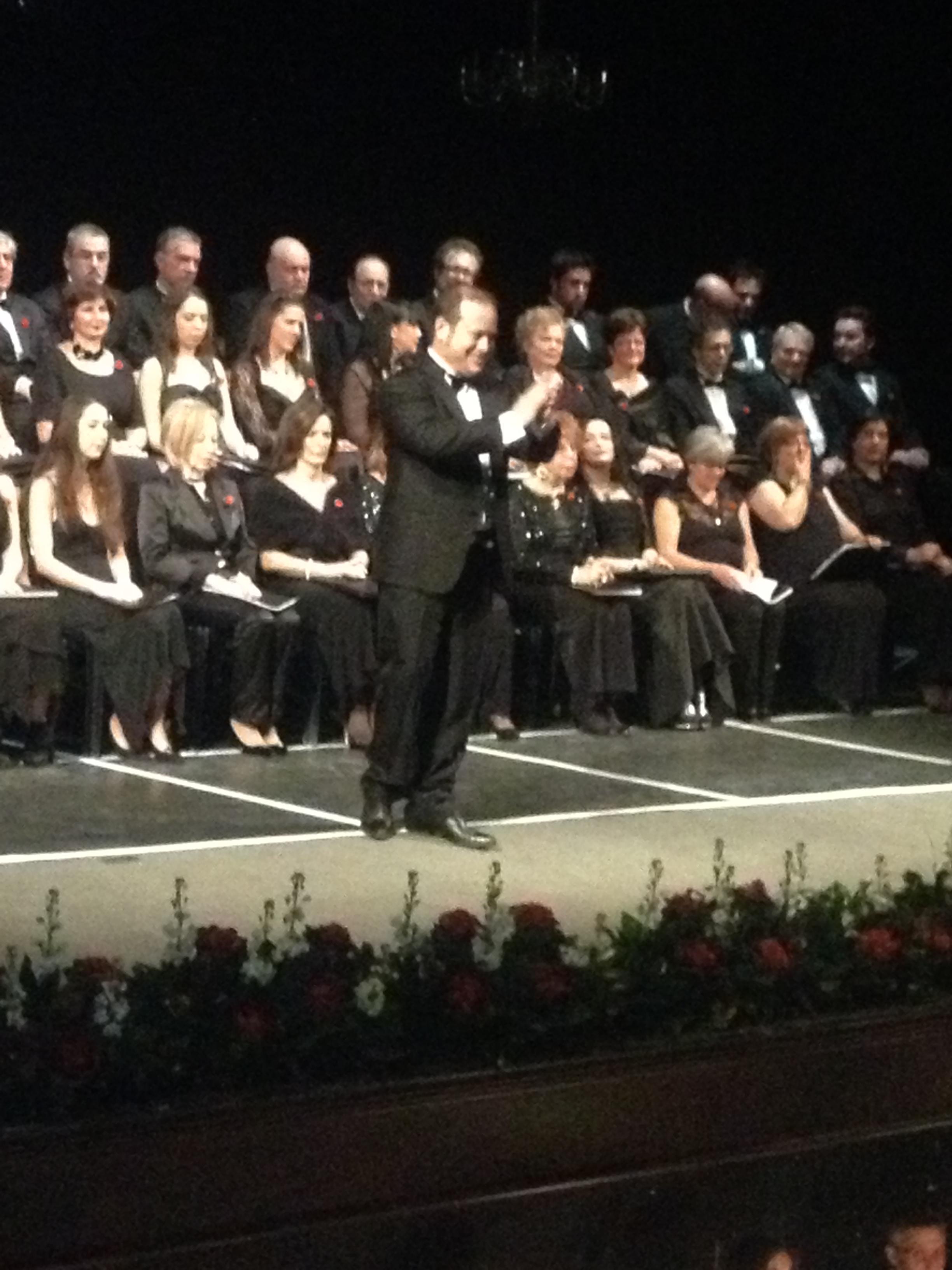 Gran Concerto di Capodanno, il tenore Cesare Celani