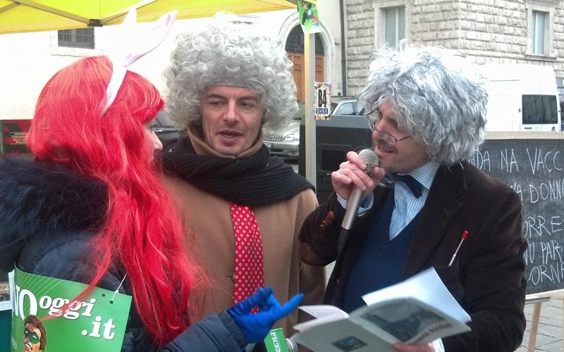 Carnevale ascolano 2013 (40) la Gnani e i proverbi