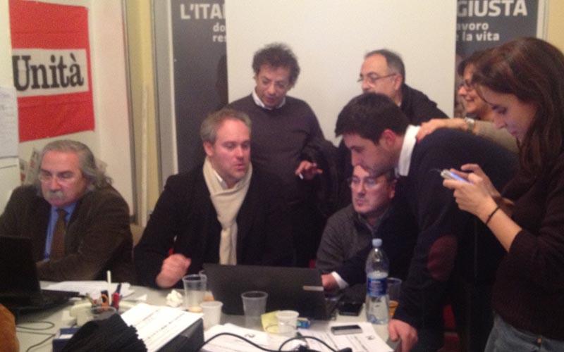Elezioni 2013, al Pd di Ascoli si consultato i risultati con D'Angelo, Di Francesco, Agostini, Casini, Ameli