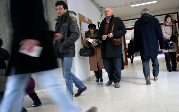 Elezioni 2013, sambenedettesi al voto (ph. tatiana garrettoni) 4