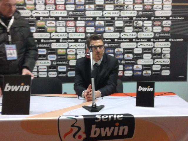 Eusebio Di Francesco, tecnico del Sassuolo