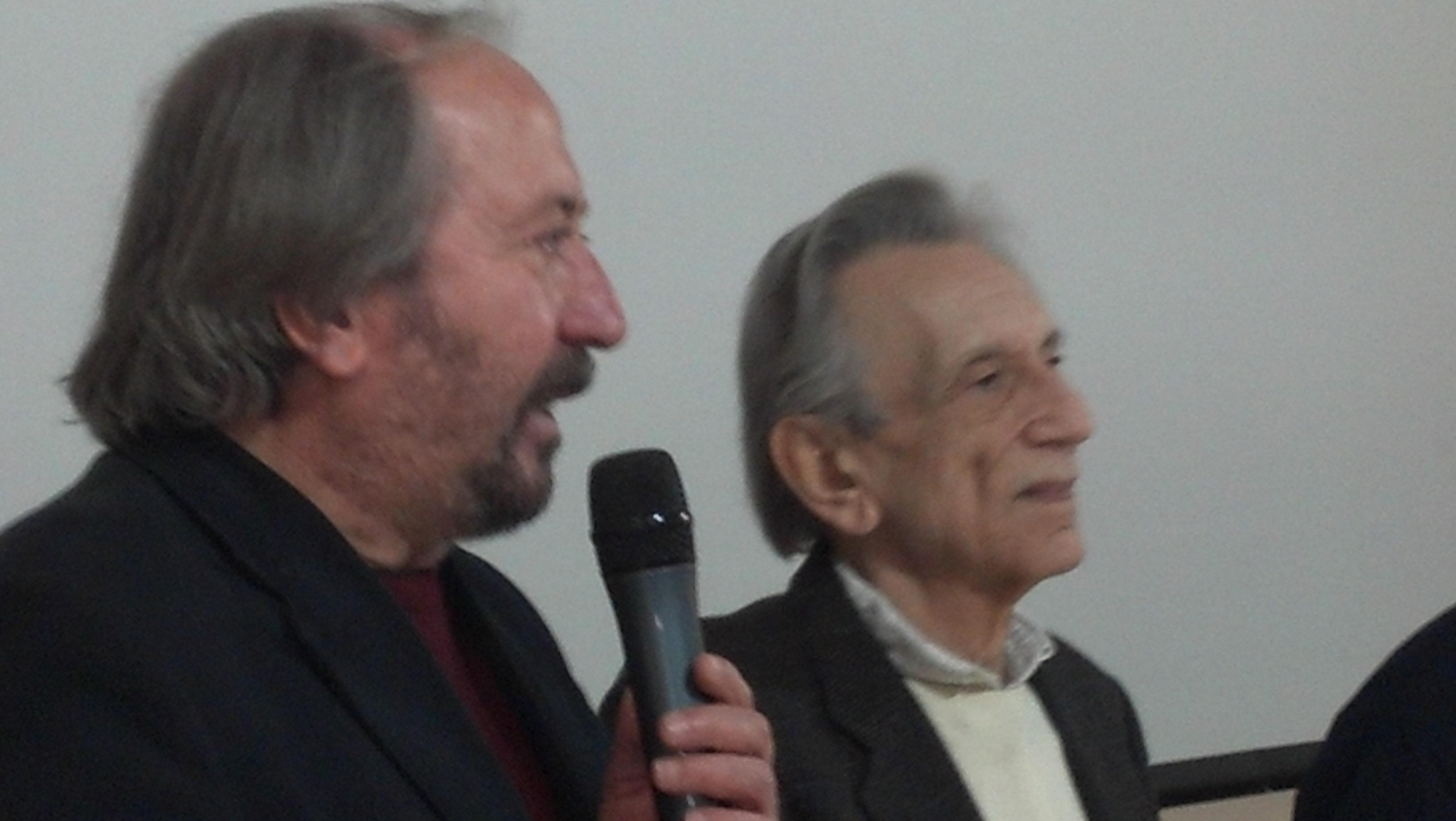 Giuseppe Piccioni e Roberto Herlitzka