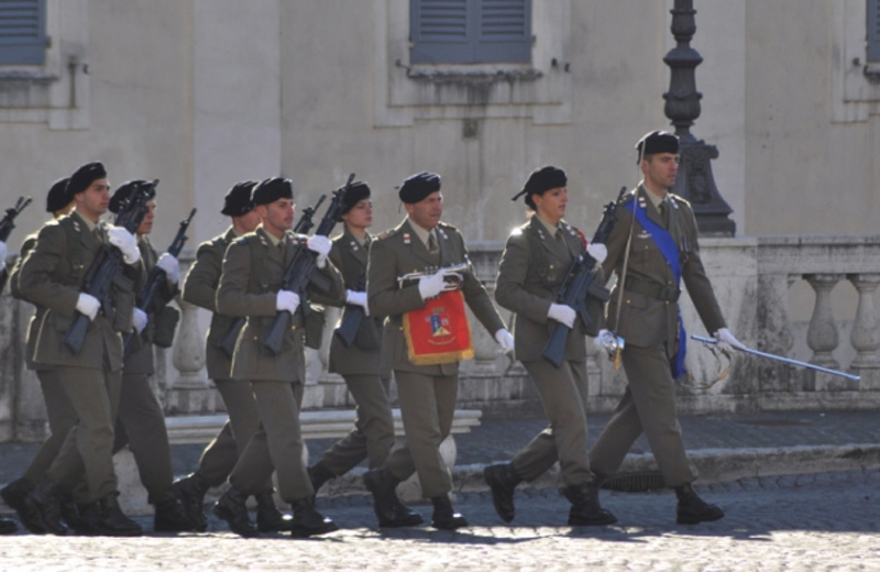 I soldati del Piceno al Quirinale