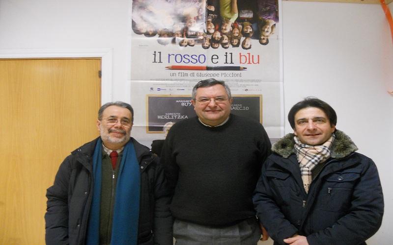 Marcello Lucadei, don Giampiero Cinelli, Luca Celani