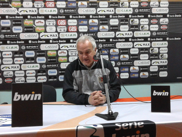 Massimo Silva a fine gara