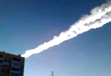 Meteoriti negli Urali fonte Ansa