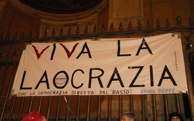 Piazza S. Giovanni, manifesto