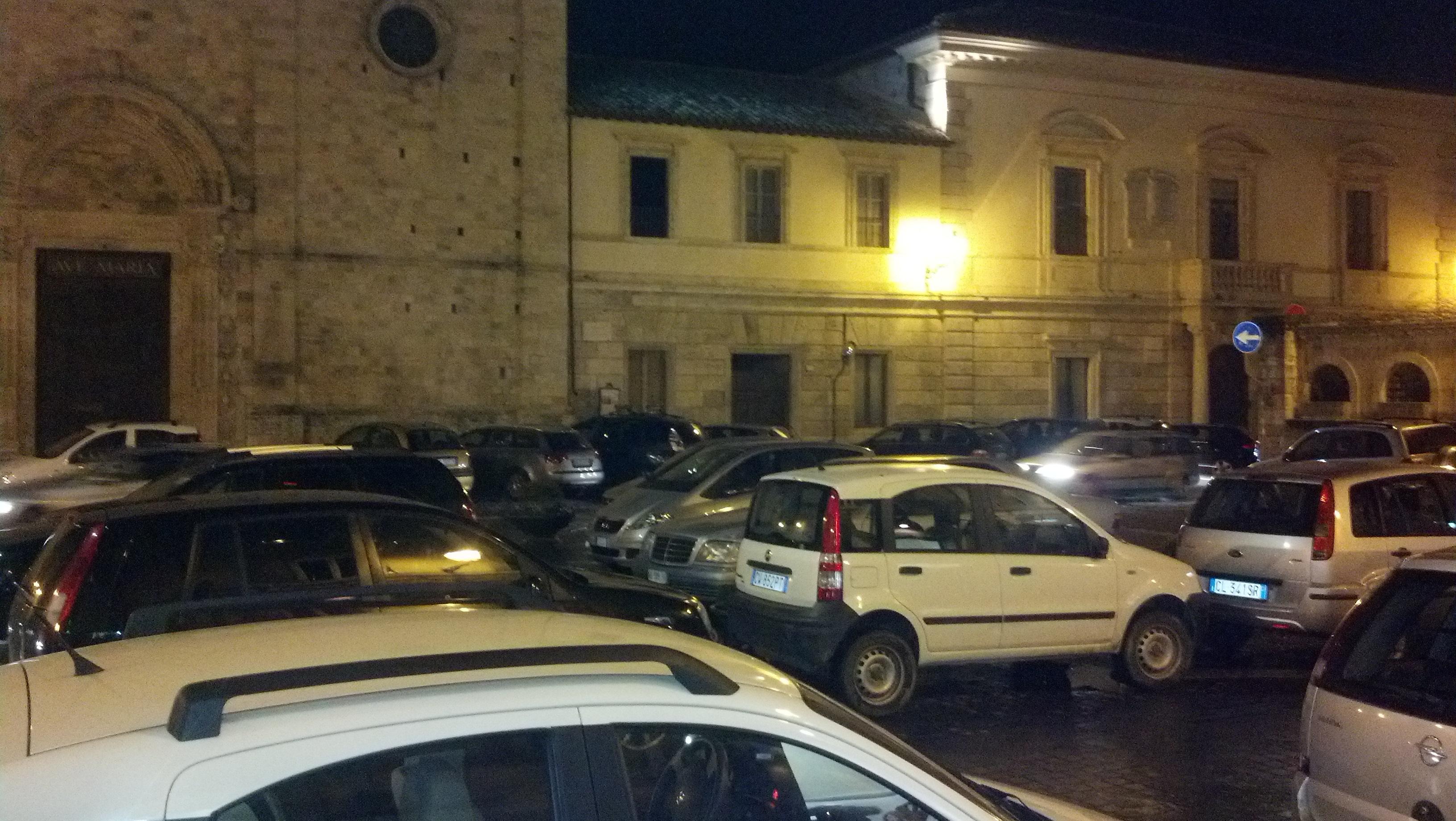 Piazza Sant'Agostino sabato 2 febbraio 2