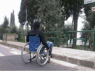disabili e barriere architettoniche
