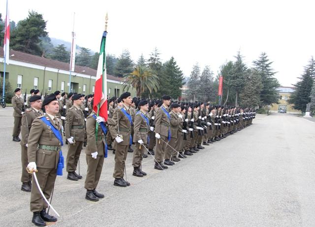 Caserma Emidio Clementi, 1° febbraio 2012 - Il Reggimento schierato