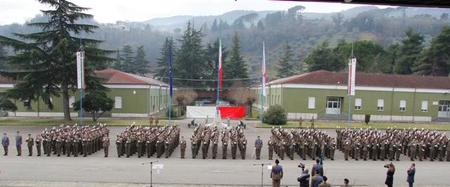 Caserma Emidio Clementi, 1° febbraio 2012 - Il 4° Blocco 2012 giura