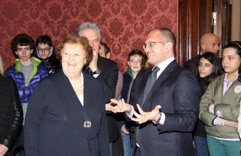 Il ministro Cancellieri e il sindaco Castelli