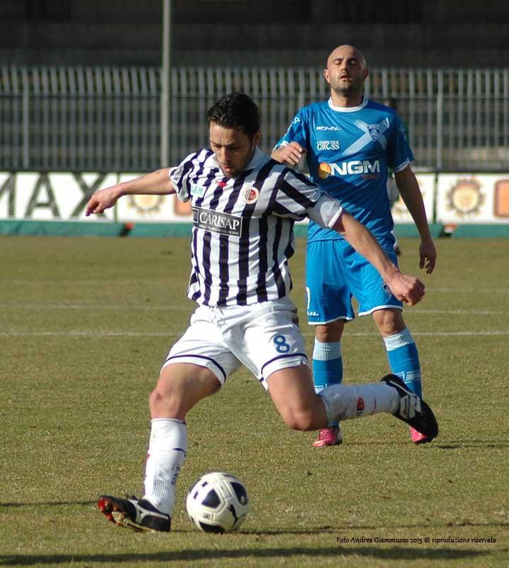 Ascoli-Empoli 1-2 (giammusso) Di Donato festeggia 200 presenze