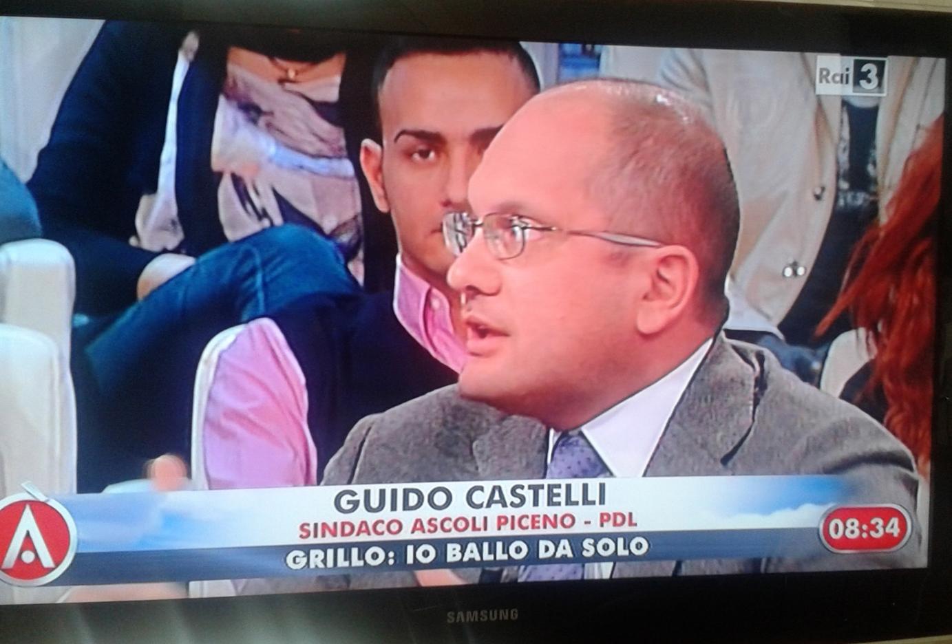 Guido Castelli ad Agorà