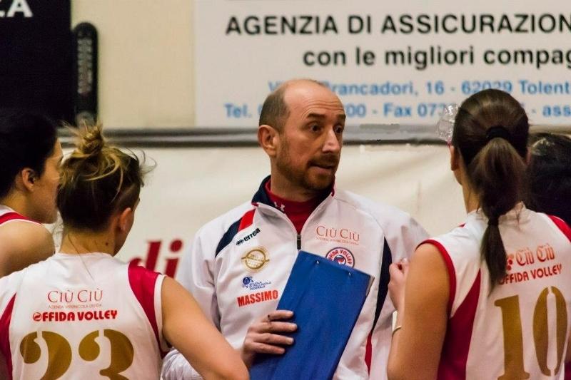 Coach Massimo Ciabattoni