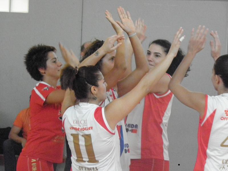 Le ragazze della Ciù Ciù Offida Volley serie D - femminile