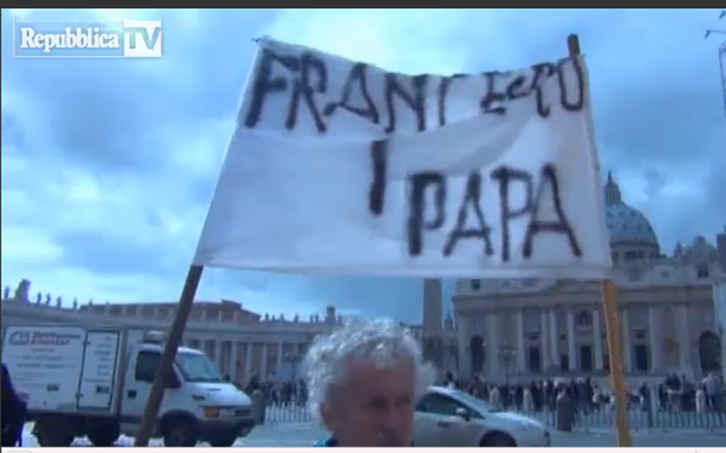 Un pensionato marchigiano aveva previsto il nome di Francesco I nuovo papa