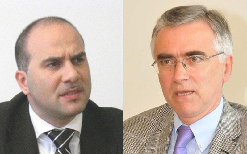 Valerio Lucciarini e Antonio Canzian