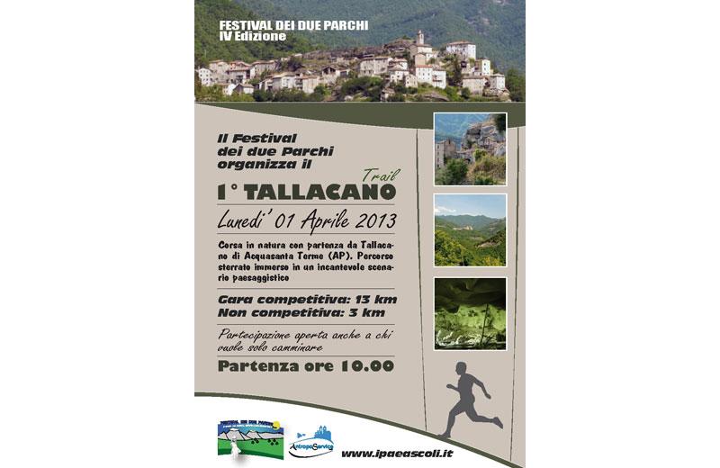 Tallacano Trail ad Acquasanta Terme