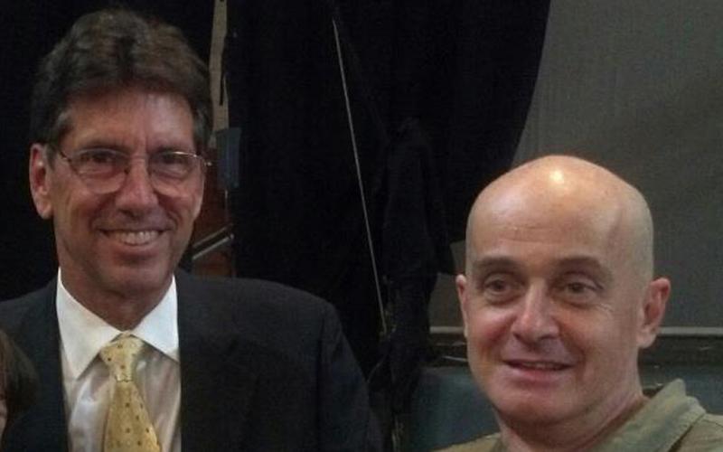 Warren Mosler assieme a Giovanni Zibordi