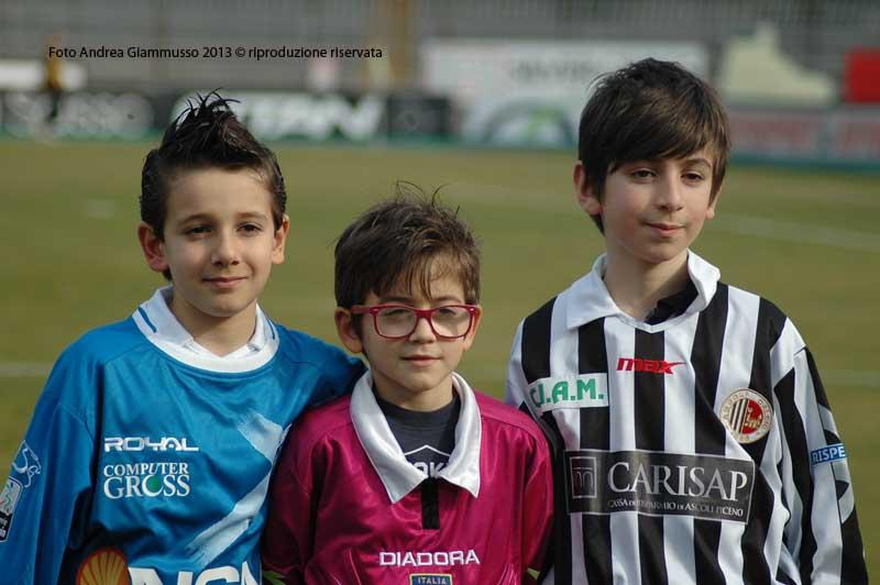 Ascoli-Empoli 1-2 (giammusso) le mascotte